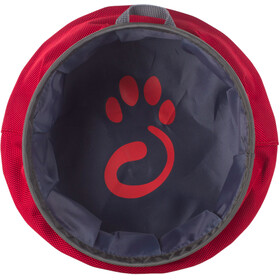 Mountain Paws Water Bowl L Foldable, red